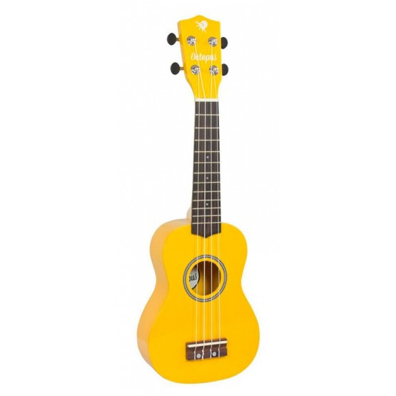 OCTOPUS UK-200YL UKELELE SOPRANO AMARILLO