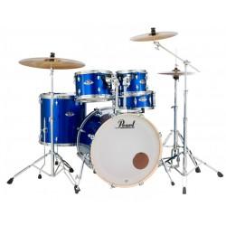 PEARL EXX705NBR C717 EXX BATERIA ACUSTICA CON HERRAJES Y PLATOS HIGH VOLTAGE BLUE