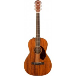 FENDER PM2 ALL MAHOGANY PARLOR GUITARRA ACUSTICA. DEMO.