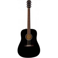 FENDER CD60S BLACK GUITARRA ACUSTICA DREADNOUGHT