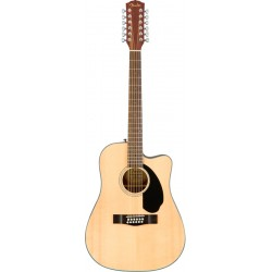 FENDER CD60SCE12 GUITARRA ELECTROACUSTICA DREADNOUGHT 12 CUERDAS NATURAL