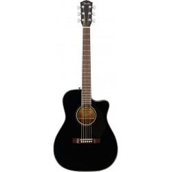 FENDER CC60SCE BLACK GUITARRA ELECTROACUSTICA CONCIERTO