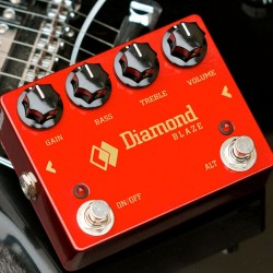 DIAMOND BLZ1 BLAZE PEDAL DISTORSION FUZZ
