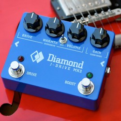 DIAMOND JDR3 J-DRIVE MK3 PEDAL BOOSTER OVERDRIVE