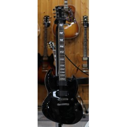 ESP LTD VIPER 400 BK GUITARRA ELECTRICA NEGRA. DEMO.