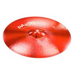 PAISTE COLOR SOUND 900 RED RIDE 22 PLATO BATERIA