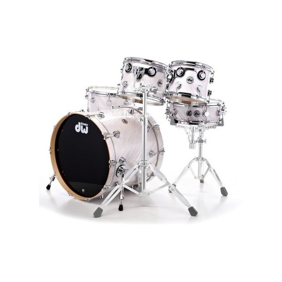 DW DRKIT210FP BATERIA COLLECTOR'S FP M 10/12/14/22 TWISTED WHITE. DEMO.