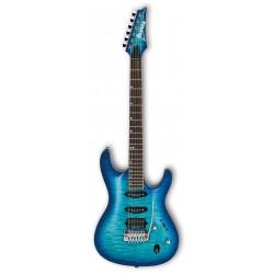 IBANEZ SA960QM DNB PREMIUM GUITARRA ELECTRICA DANUBE BLUE BURST