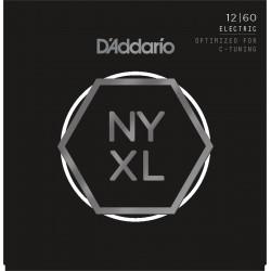 D'ADDARIO NYXL1260 JUEGO CUERDAS GUITARRA ELECTRICA