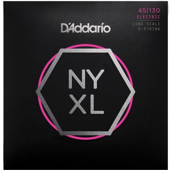 D'ADDARIO NYXL45130 JUEGO 5 CUERDAS BAJO 045-130