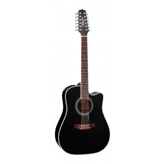 takamine ef381sc guitarra electroacustica dreadnought 12 cuerdas negra precio tienda online. Black Bedroom Furniture Sets. Home Design Ideas