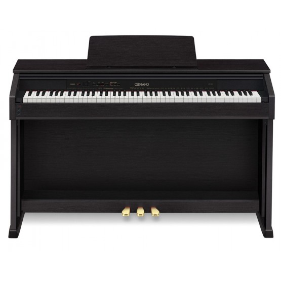 CASIO AP460BK KIT CELVIANO PIANO DIGITAL NEGRO CON BANQUETA. DEMO.