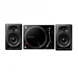 PIONEER DJ PACK PLX500K PLATO GIRATORIO Y MONITORES DM40