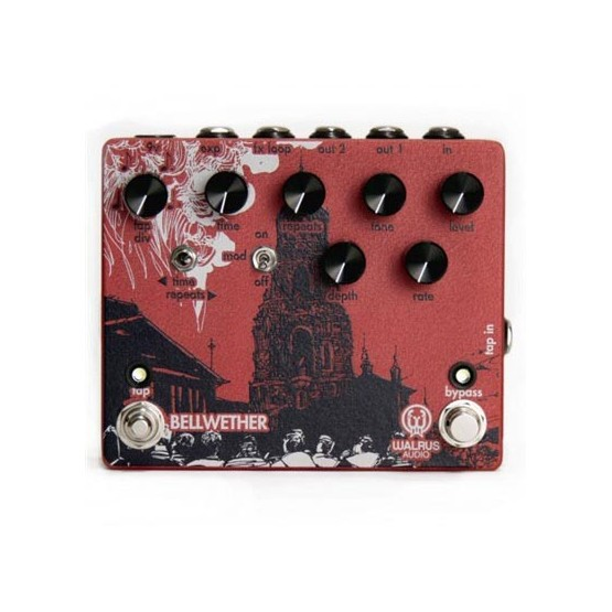 WALRUS BELLWETHER PEDAL DELAY ANALOGICO. DEMO.