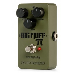 ELECTRO HARMONIX GREEN RUSSIAN BIG MUFF PEDAL DISTORSION