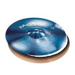 PAISTE 900 COLOR SOUND BLUE HIHAT 14 PLATOS BATERIA