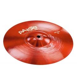 PAISTE 900 COLOR SOUND RED SPLASH 10 PLATO BATERIA