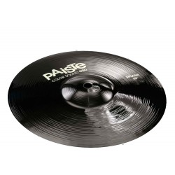 PAISTE 900 COLOR SOUND BLACK SPLASH 10 PLATO BATERIA