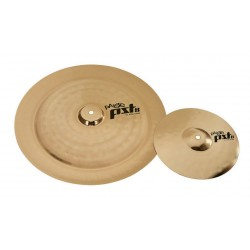 PAISTE PST8 REFLECTOR ROCK EFFECTS SET 2 PLATOS BATERIA