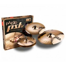 PAISTE PST8 REFLECTOR ROCK SET 3 PLATOS BATERIA