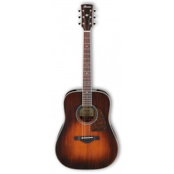 IBANEZ AVD10E BVS ARTWOOD GUITARRA ELECTROACUSTICA DREADNOUGHT BROWN VIOLIN SUNBURST