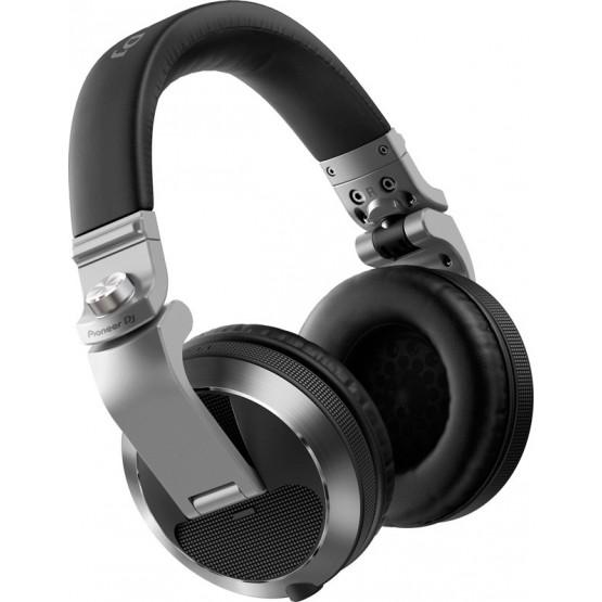 PIONEER DJ HDJ-X7S AURICULARES CERRADOS DJ PLATEADOS
