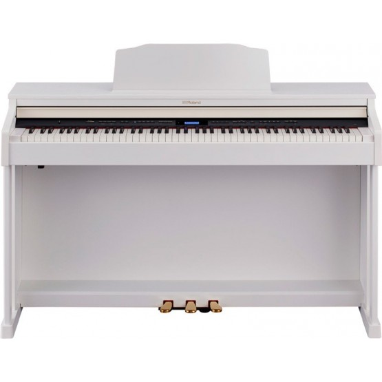 ROLAND HP601 WH PIANO DIGITAL BLANCO