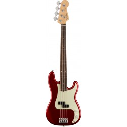 FENDER AMERICAN PRO PRECISION BASS RW BAJO ELECTRICO CANDY APPLE RED