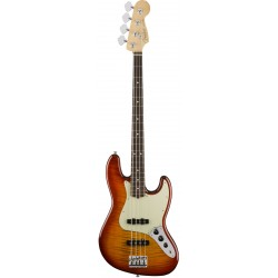 FENDER AMERICAN PRO JAZZ BASS FMT BAJO ELECTRICO AGED CHERRY BURST.