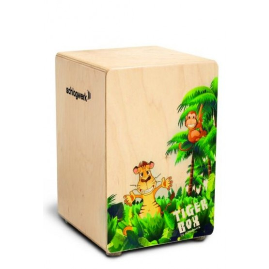 SCHLAGWERK LA PERU CP400 TIGER BOX CAJON. DEMO.