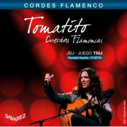 SAVAREZ T50J TOMATITO JUEGO DE CUERDAS GUITARRA FLAMENCA TENSION FUERTE