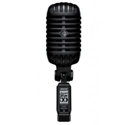 SHURE SUPER55 BLK PITCH BLACK EDITION DELUXE MICROFONO VOCAL NEGRO.