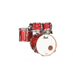 PEARL MCT904XEP-C319 MASTER MAPLE COMPLETE BATERIA ACUSTICA INFERNO RED