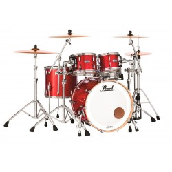 PEARL MCT924XEP-C319 MASTER MAPLE COMPLETE BATERIA ACUSTICA INFERNO RED