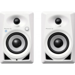 PIONEER DJ DM40 BTW MONITORES ACTIVOS BLUETOOTH BLANCO. PAREJA