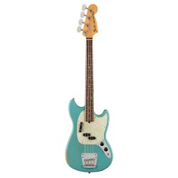 FENDER JMJ ROAD WORN MUSTANG BASS RW BAJO ELECTRICO FADED DAPHNE BLUE
