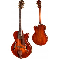 EASTMAN AR603CE-15-CL NATURAL JIM FISCH GUITARRA ELECTRICA ARCHTOP CLASSIC.