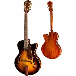 EASTMAN AR603CE-15-CS JIM FISCH GUITARRA ELECTRICA ARCHTOP SUNBURST.