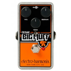 ELECTRO HARMONIX OP-AMP BIG MUFF PI PEDAL DISTORSION