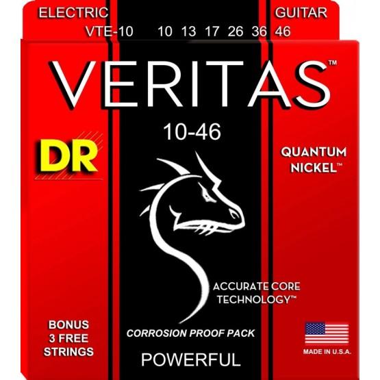 DR VTE10 VERITAS JUEGO CUERDAS GUITARRA ELECTRICA 010-046