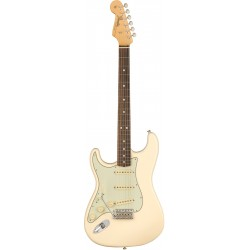 FENDER AMERICAN ORIGINAL 60S STRATOCASTER LH RW GUITARRA ELECTRICA OLYMPIC WHITE ZURDOS