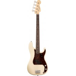 FENDER AMERICAN ORIGINAL 60S PRECISION BASS RW BAJO ELECTRICO OLYMPIC WHITE