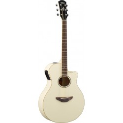 YAMAHA APX 600 VWH GUITARRA ELECTROACUSTICA VINTAGE WHITE