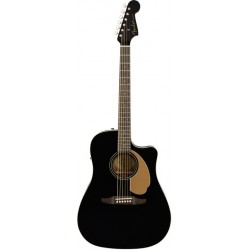 FENDER REDONDO PLAYER GUITARRA ELECTROACUSTICA JETTY BLACK