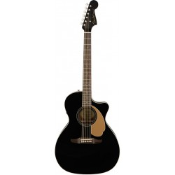FENDER NEWPORTER PLAYER GUITARRA ELECTROACUSTICA JETTY BLACK