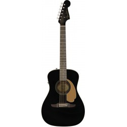 FENDER MALIBU PLAYER GUITARRA ELECTROACUSTICA JETTY BLACK