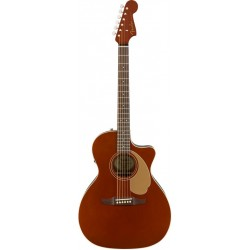FENDER NEWPORTER PLAYER GUITARRA ELECTROACUSTICA RUSTIC COPPER