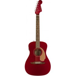 FENDER MALIBU PLAYER GUITARRA ELECTROACUSTICA CANDY APPLE RED
