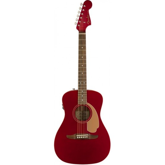 FENDER MALIBU PLAYER GUITARRA ELECTROACUSTICA CANDY APPLE RED