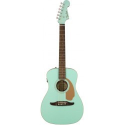 FENDER MALIBU PLAYER GUITARRA ELECTROACUSTICA AQUA SPLASH